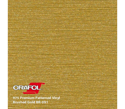 Oracal 975 Brushed Premium Structure Cast Gold Metallic 1.524 m
