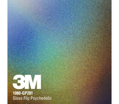 3M 1080 GP 281 Gloss Flip Psychedelic 1.524 m