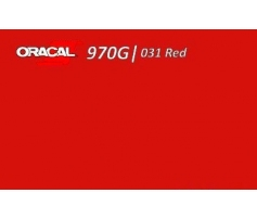Oracal 970 Red Gloss 031 1.524 m