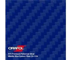 Oracal 975 3D Middle Blue Carbon 1.524 m
