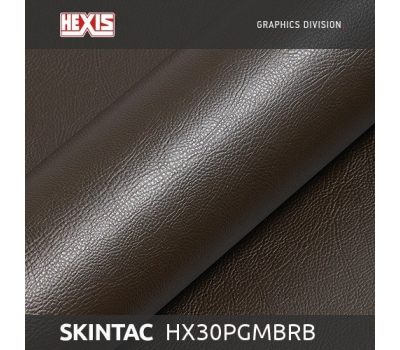 Hexis Grain Leather Сhesnut Gloss HX30PGMBRB 1.37 m