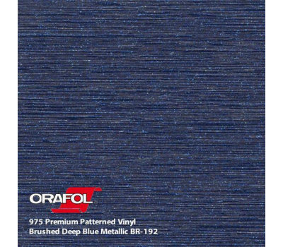 Oracal 975 Brushed Premium Structure Cast Deep Blue Metallic 1.524 m