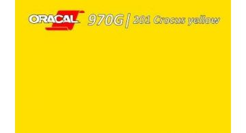 Oracal 970 Crocus Yellow Gloss 201 1.524 m