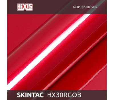 Hexis HX30RGOB Skintac Redcurrent Red Gloss 1.524 m