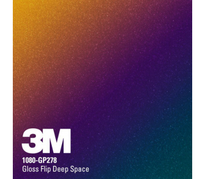 3M 1080 GP 278 Gloss Flip Deep Space 1.524 m