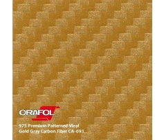 Oracal 975 3D Gold Carbon 1.524 m