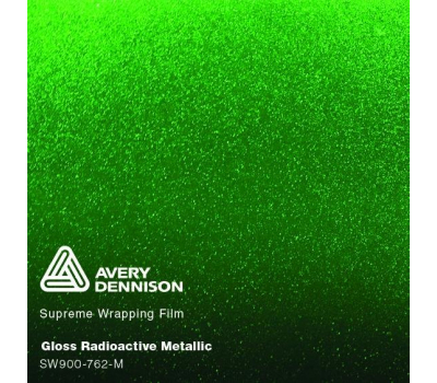 Avery Gloss Metallic Radioactive Green SW900-762-M 1.524 m