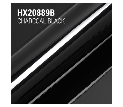 Hexis HX20889B Skintac Coal Black Gloss 1.524 m