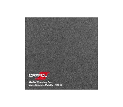 Oracal 970 Graphite Metallic Matt 932 1.524 m
