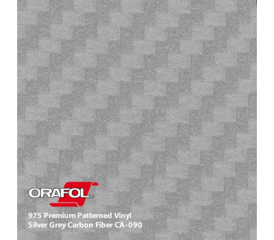 Oracal 975 3D Silver Grey Carbon 1.524 m
