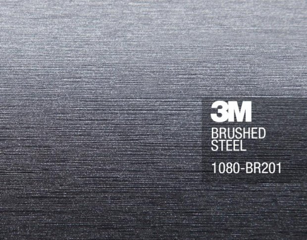 3М Brushed Steel 1.524 m