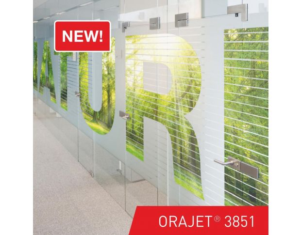 Oracal 3851 090 Digital Printing Film Fine Structure 1.524 m