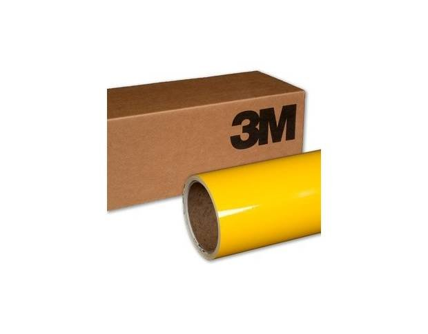 3M 1080 G 15 Gloss Bright Yellow 1.524 m