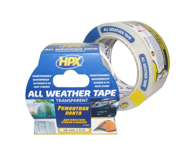 HPX AT4805 All Weather Tape 48mm x 5m