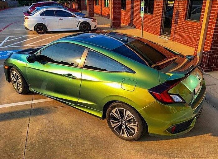 Зелена плівка для тонування скла авто | 43